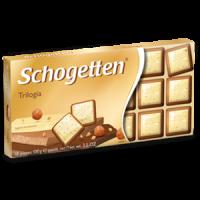 Шоколад Schogetten Trilogia 100g (15шт/ящ)