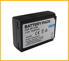 Аккумулятор BP-1030 (BP1030) - аналог для камер SAMSUNG NX200, NX210, NX1000 - 1030 ma