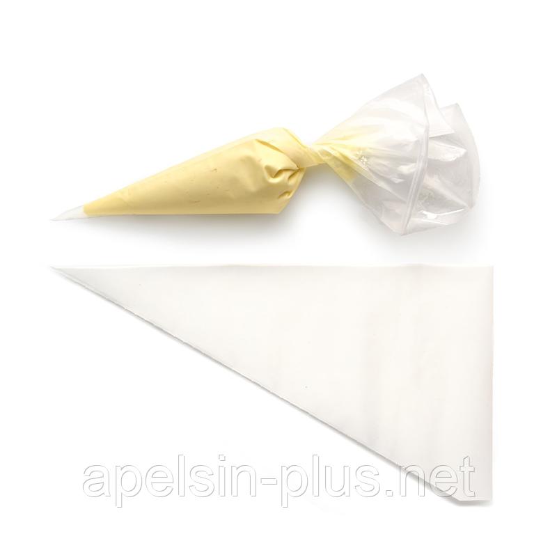 Мешок кондитерский для крема одноразовый 26 см упаковка 100 штук