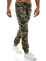 Мужские брюки карго Athletic камуфляжные