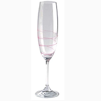 Twist life Бокал для шампанского 22cl фуксия
