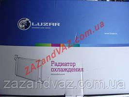 Радіатор охолодження основний Лачетті Lacetti 1.6/1.8 автомат алюмінієво-паяний Лузар Luzar Росія LRc CHLt0424