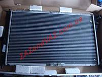 Радиатор охлаждения основной Ланос Lanos с кондиционером алюминиево-паяный Лузар Luzar Россия LRc 0561b