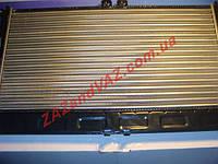 Радиатор охлаждения основной Ланос Lanos с кондиционером алюминиевый Лузар Luzar Россия LRc 0561