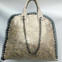 Стильная модная сумка цвета ХАКИ
