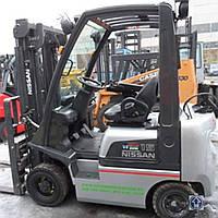 Бензиновый вилочный погрузчик 1,5 тонны Nissan G15PQ б/у