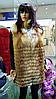 Модная жилетка женская батал из рыжей лисы в роспуск