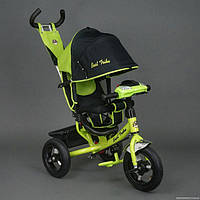 Детский трехколесный велосипед Best Trike с фарой 6588В зелёный