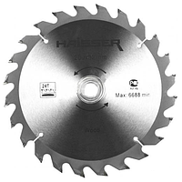 Диск пильный Haisser 200х32 24 зуб по дереву