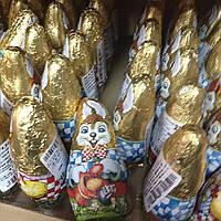 Шоколадные зайцы.Вес 23 грамма.Производство Венгрия.Упаковка 60 штук