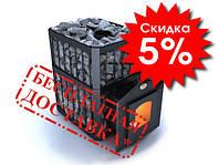 Печь для бани Пруток ПКС-04П 26м3 стальная Новаслав