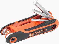 Набор шестигранных ключей 2-8 мм. 8 шт. TACTIX