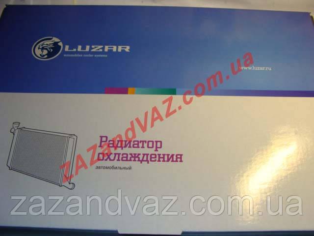 Радиатор охлаждения (основной) ВАЗ 2170 Приора Priora Лузар Luzar LRc 0127