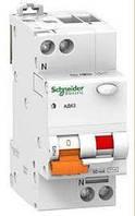 Дифференциальный автомат Schneider Electric АД63 2P 16А 30мА