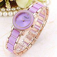 Женские кварцевые часы SBAO (Purple)