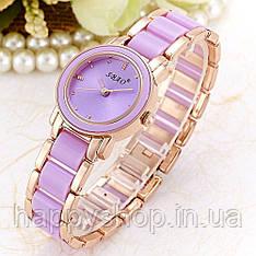 Жіночий кварцевий годинник SBAO (Purple)