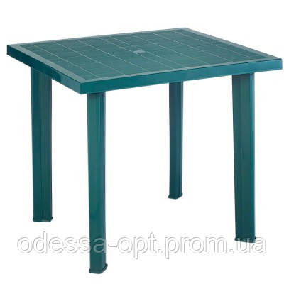 Стол цвета зеленый