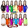 Купальники для художественной гимнастики, RS GM030066 (бифлекс, р-р 1-M, рост 98-134см, цвет в ассорт.)