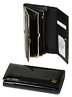 Кожаное портмоне для девушки Gold Bretton
