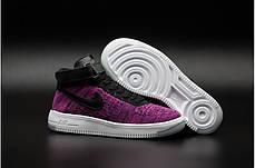 Женские кроссовки Nike Air Force 1 Ultra Flyknit High топ реплика, фото 2