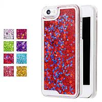 Чехол с плавающими блестками iPhone 5 5s 5se