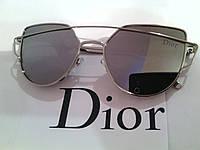 Солнцезащитные очки  Dior, цвет серый