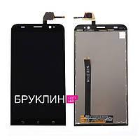 Оригинальный дисплей для мобильного телефона Asus Zenfone 2/ZE550ML, черный, с тачскрином / Экран для Асус