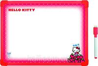 Доска магнитная, сухостираемая, А3  + маркер KITE 2013 Hello Kitty 148 (HK13-148K)