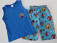 Летний костюм на мальчика (майка+шорты) 4,5,6,7,8 лет 100 % хлопок