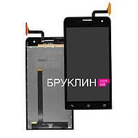 Оригинальный дисплей для мобильного телефона Asus Zenfone 2/ZE551ML, черный, с тачскрином / Экран для Асус
