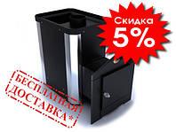 Каменка для сауны Классик ПКС-01Ч 12м3 нерж вставки Новаслав