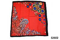 Женский красный турецкий платок, фото 1