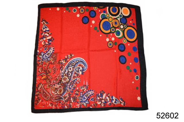 Турецкий женский платок красный 1