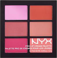 Палитра помад NYX The Pinks (6 оттенков)