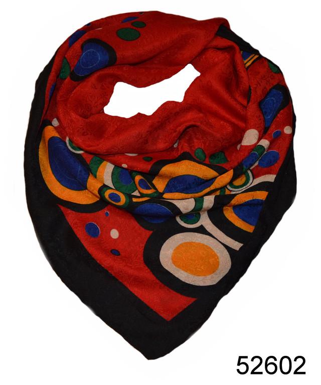 Турецкий женский платок красный 3