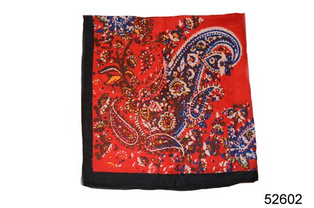 Турецкий женский платок красный 5