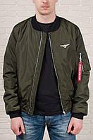 Мужская куртка бомбер Olymp цвета хаки