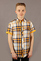 Рубаха Emilio Sagezza SG003 Желтая Размеры S M