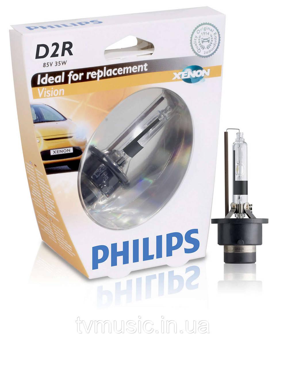 Ксеноновая лампа Philips Xenon Vision D2R 85V 35W (85126VIS1)