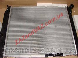 Радіатор охолодження основний Aveo Авео 480 алюмінієво-паяний Лузар Luzar Росія LRc CHAv05175