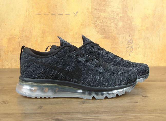 Мужские кроссовки Nike Air Max 2016 темно-серые топ реплика