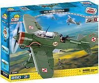 Конструктор COBI Вторая Мировая Война - Самолет PZL Карась P-23B
