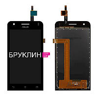 Оригинальный дисплей для мобильного телефона Asus Zenfone C/ZC451CG, черный, с тачскрином / Экран для Асус