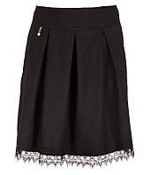Юбка Кружево черная, фото 1