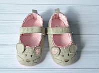 """Пинетки-туфли для девочки """"Мышата"""" 12 размер"""