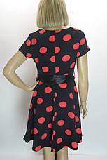 Сукня в горошок з коротким рукавом розпродаж, фото 2