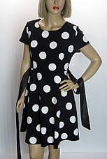 Сукня в горошок з коротким рукавом розпродаж, фото 3