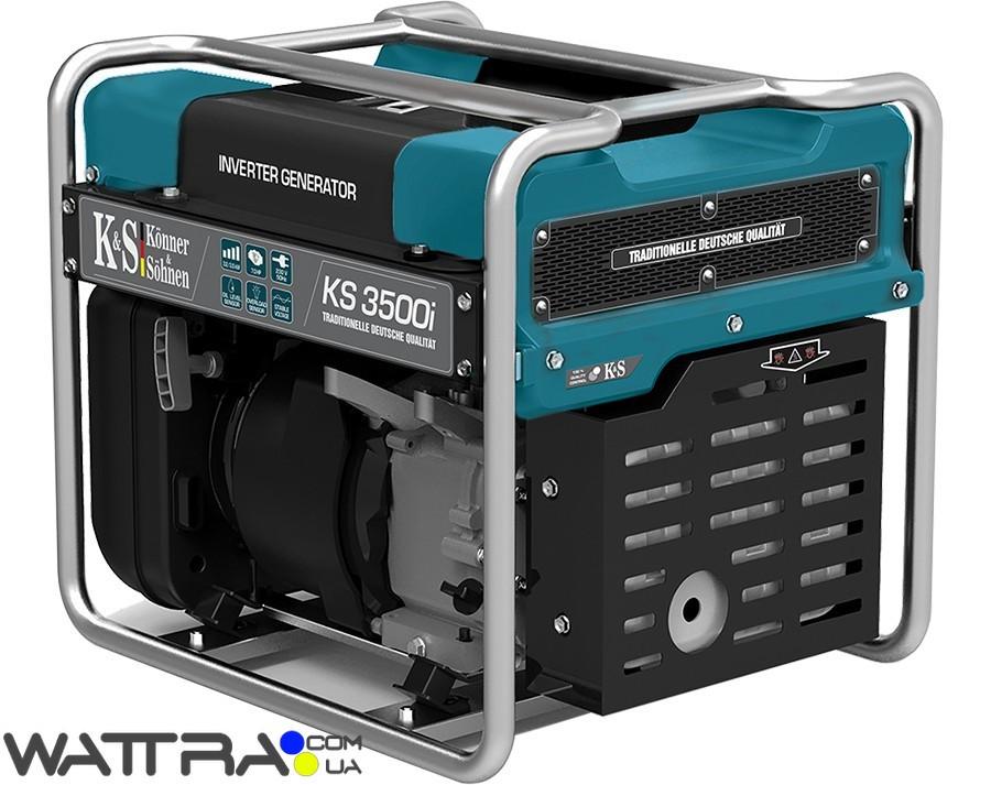 Генератор инверторный  Konner & Sohnen KS 3500i (3,5 кВт) - Wattra.com.ua - техника... в Киеве