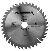 Диск пильный Haisser 230х30 40 зуб по дереву