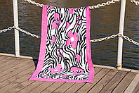 Полотенце пляжное Lotus Good Mood 75*150 велюр